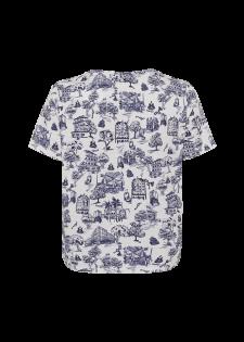 T-Shirt mit Alloverprint