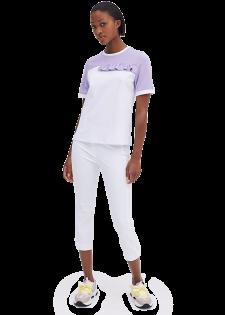 Lockeres Shirt im Bicolorstyle