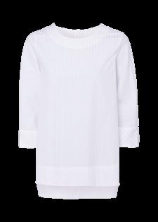Luftige Bluse im Streifendesign