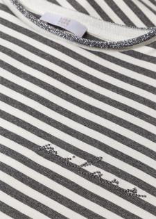 Jerseyshirt mit Rollbündchen