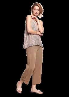 Hose mit verstellbarer Saumweite