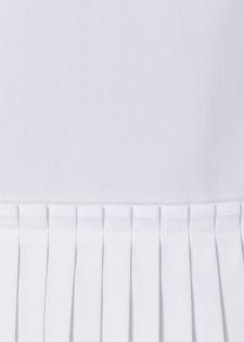 Bluse mit Plisseedetails