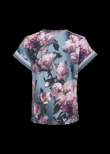 T-Shirt mit floralem Alloverprint