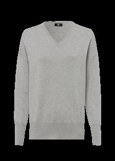 Pullover mit Rollkrageneinsatz
