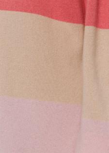 Wollpullover im Streifendesign