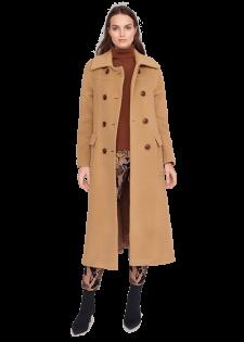 Mantel aus weicher Alpakawolle