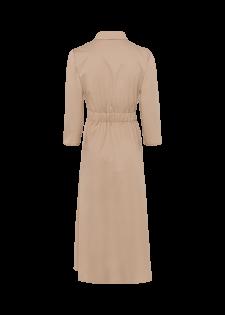 Blusenkleid mit Logogürtel