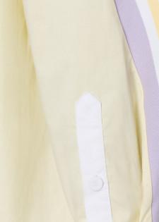 Bluse in Bicoloroptik
