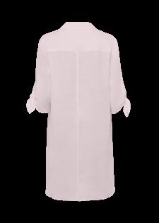 Weite Bluse mit Knotendetail