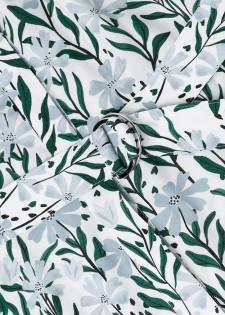 Mididress mit Blumenprint