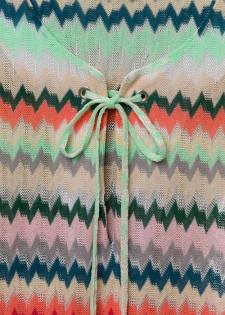 Kleid in Multicoloroptik