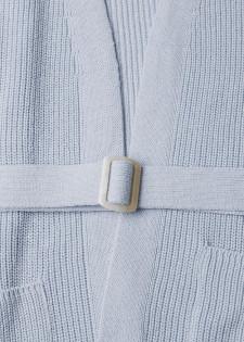 Long-Cardigan mit Bindegürtel