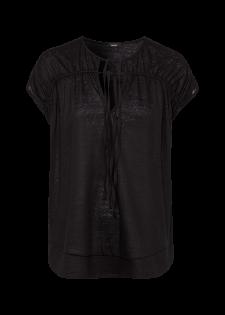 T-Shirt mit Bindebändern