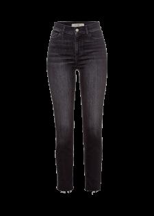 Slim-fit Jeans mit Galonstreifen