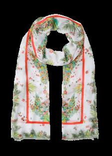 Tuch mit floralem Print