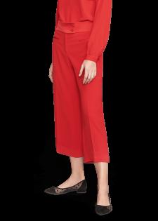 Culotte mit weitem Bein