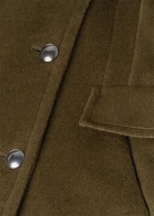 Mantel aus Alpaka-Mix