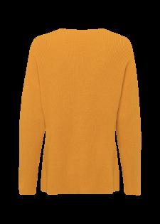 Lässiger Rippstrick-Pullover