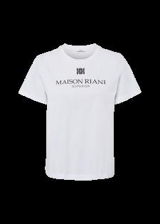 T-Shirt mit Labelprint
