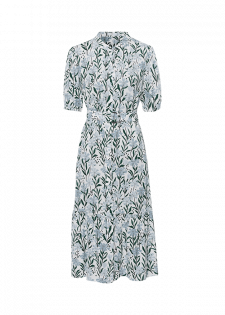 Mididress mit Blumenprint
