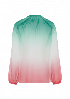 Tunika mit Farbverlauf