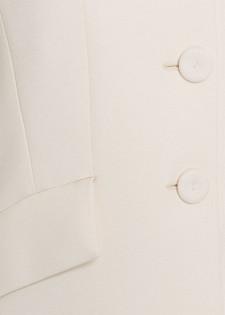 Blazer mit Seitenschlitzen
