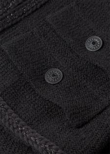 Jacke mit Schurwolle