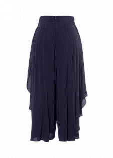Culotte im Wickeldesign