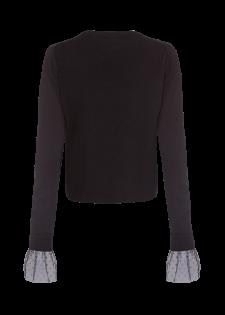 Pullover mit Kaschmir und Seide