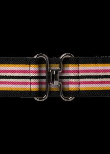 Stretchgürtel in Streifendesign