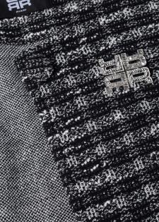 Tweedjacke mit Riani-Brosche