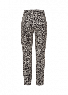 Slim-fit-Hose mit Animalprint