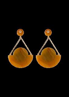 Ohrhänger im geometrischen Design