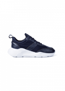 Sneakers im Kontrastmix-Design