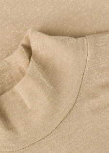 Langarmshirt im Lurex-Desig