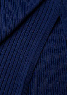 Long-Pullover aus Merinowolle