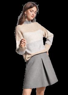 Pullover aus Merino-Mix