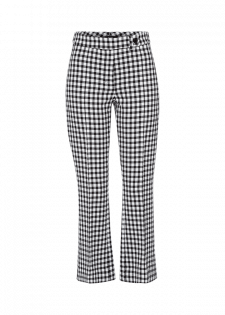 Coole Bootcut Pants mit Vichykaro-Muster