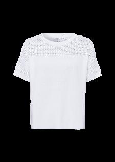 Pullover im Lochstrickdesign