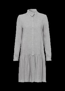Kleid mit Volantrock