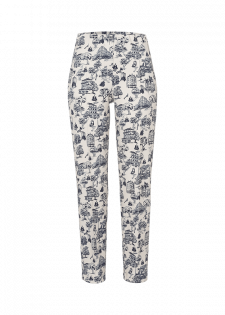 Slim-fit Hose mit Retroprint