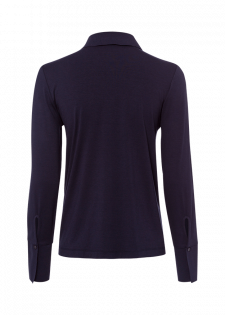 Raffinierte Bluse mit Hemdkragen
