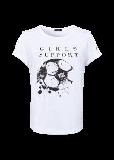 "Special Edition EM-Shirt ""Girls Support"""