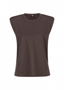 COTTON-SHIRT WITH DROPPED SHOULDERS
