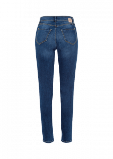 Slim-fit-Jeans in Used-Optik