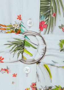 Maxikleid mit Blumenprint