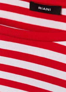 Streifenshirt mit 3/4-Ärmeln