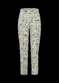 Hose mit floralem Print