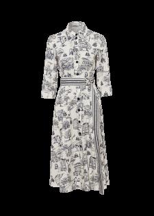 Kleid mit Retroprint
