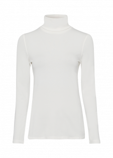 Turtleneck Pullover Made From Soft Jersey
